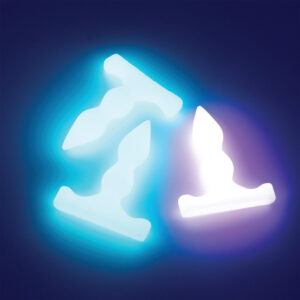 Apex Glow in the dark blue and pink small