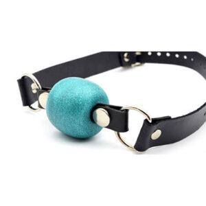 Godemiche Silicone Ball GagTurquoise Effulgence