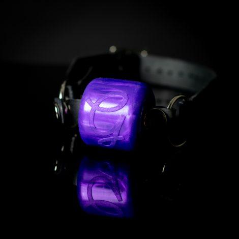 Ball Gag Original Purple Pearlescent Godemiche