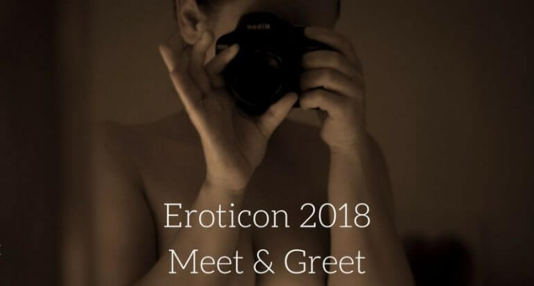 Eroticon meet and greet image of monika taking her picture in a mirror