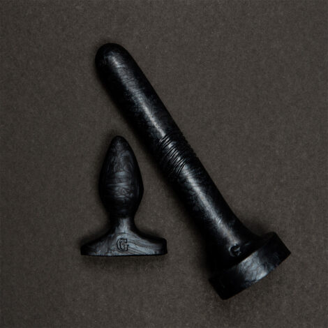 Anal Duo Black Pearlescent
