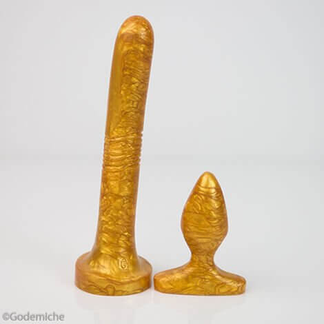 Anal Duo Pack Gold Pearlescent