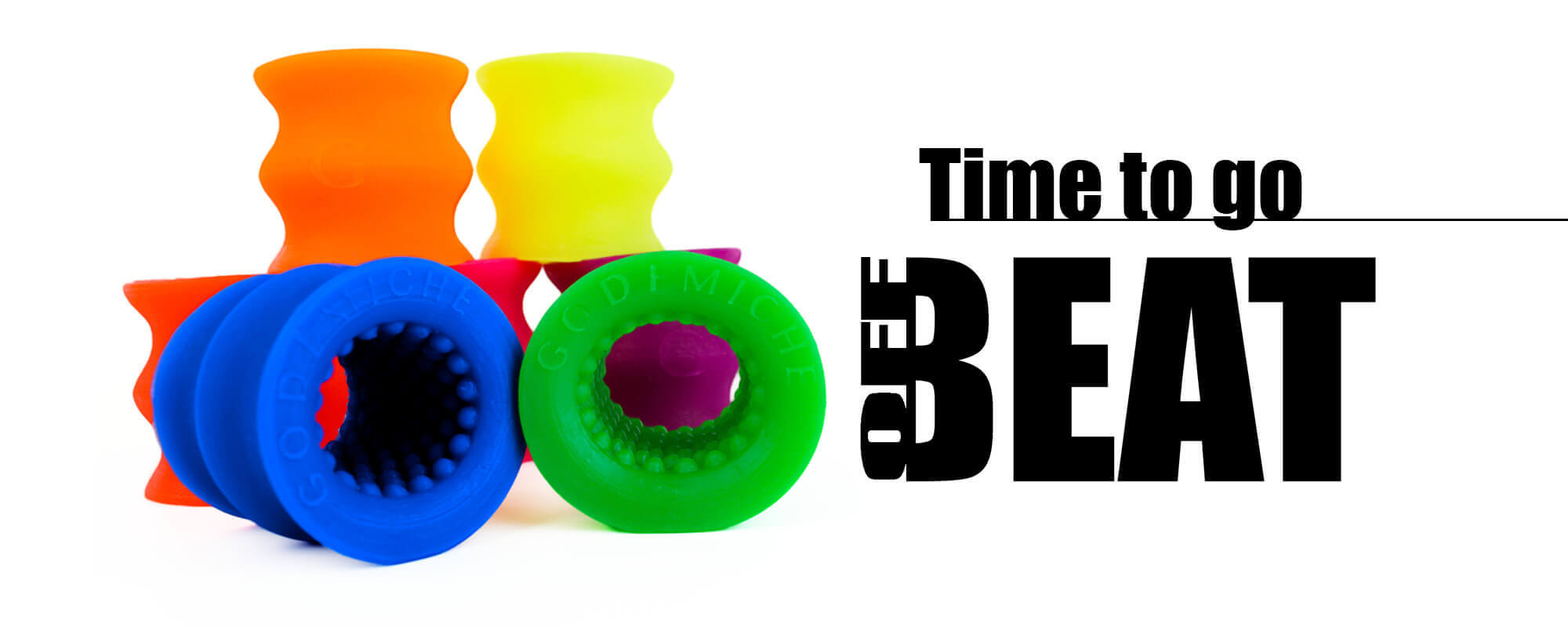 Godemiche Silicone Time to go OffBeat Homepage Banner