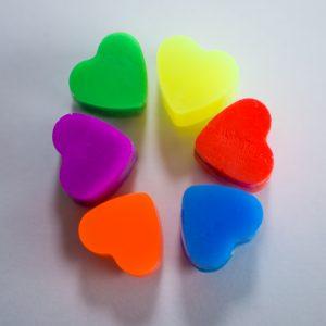Godemiche Silicone Love Hearts