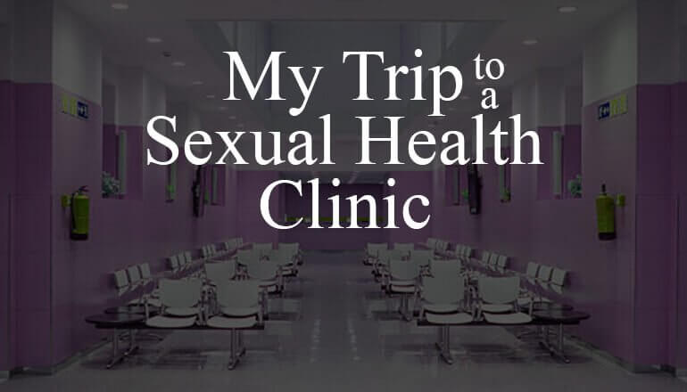 NHS STI Banner for My trip to a sexual health clinic