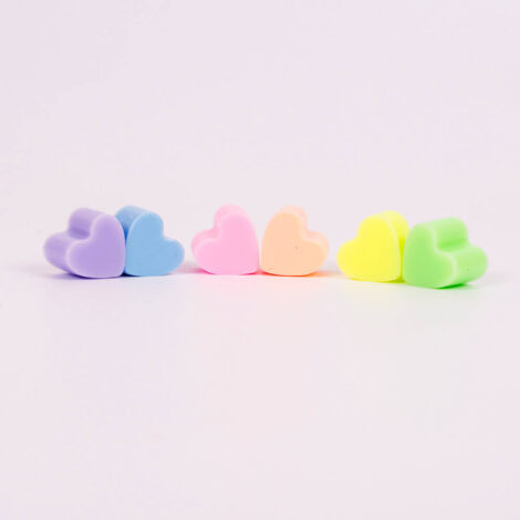 Pastel Be My Valentines Heart Buddies
