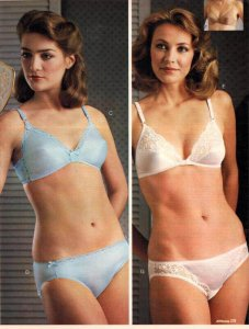 A catalog image of women in lingerie for a Lifetime of wanking post