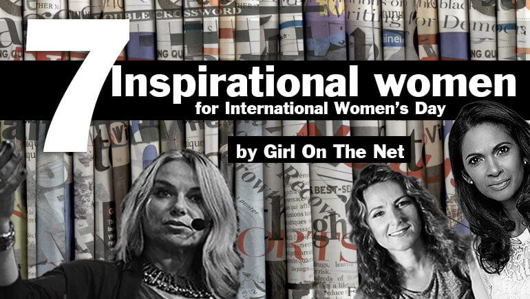 7 Insprational Women for International Womens Day Blog Banner