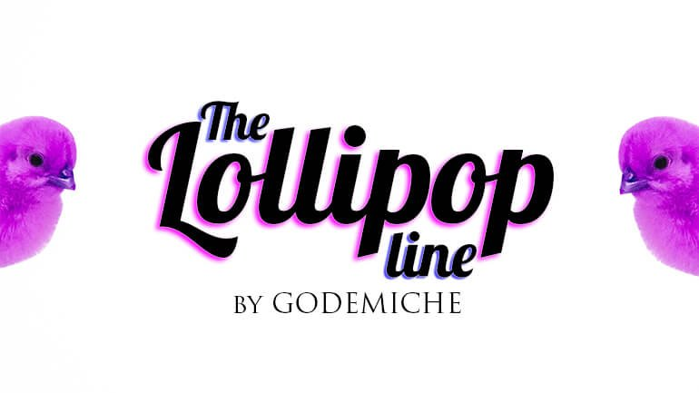 Godemiche silicone dildos silicone butt plugs the Lollipop Line Pastle glitter