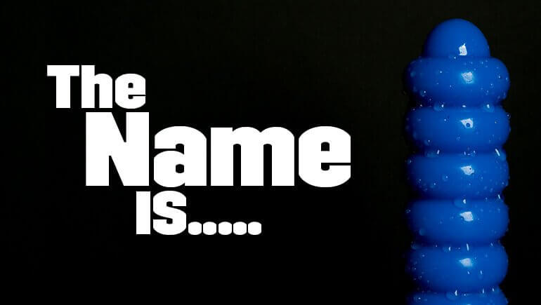 naming our latest dildo. Absolem blog banner