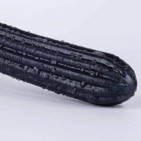 XI medium black pearlescent close up of texture