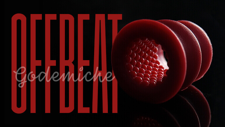 Picture of dark red OffBeat godemiche silicone mastorbater Blog Banner