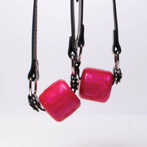 Ball Gag Hanging Scarlet G Logo and Hearts