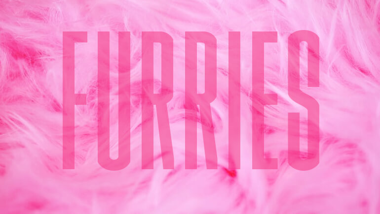 Furries Blog Post Banner Pink Fur