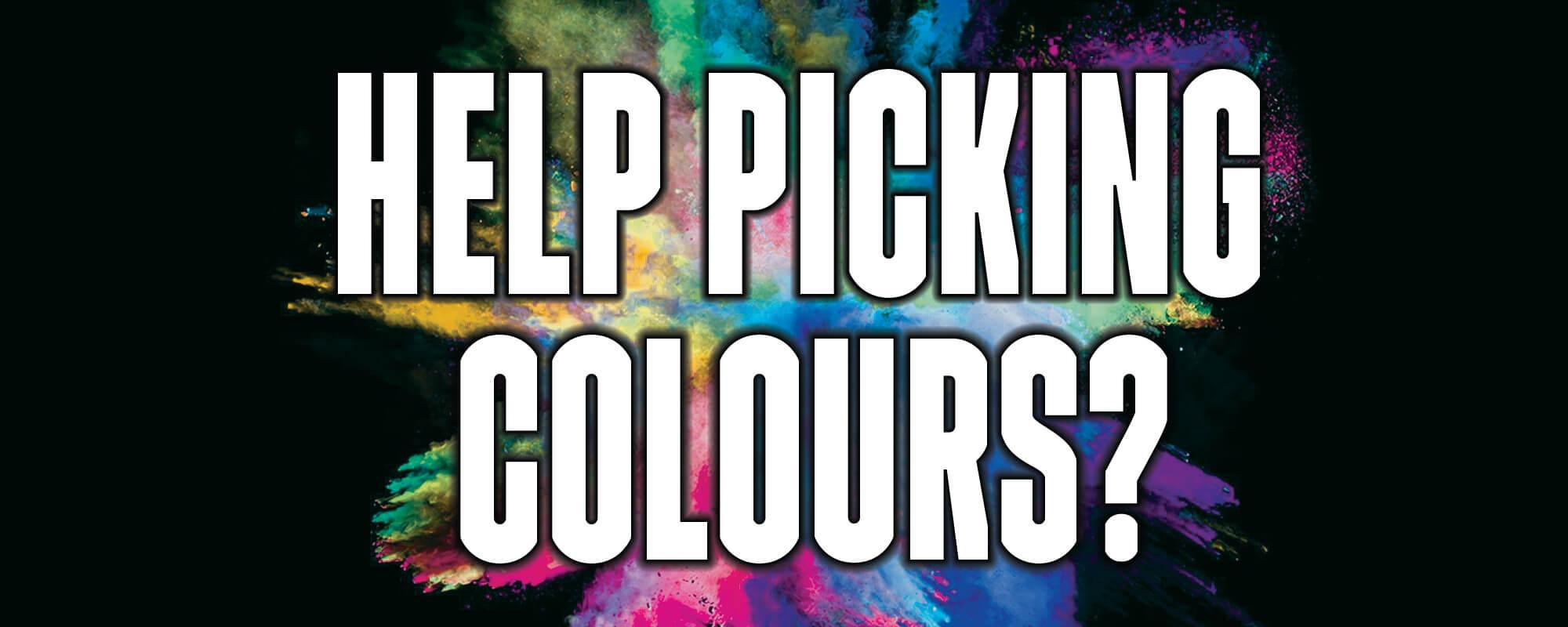 Help Picking Colours Website Slide Banner Image