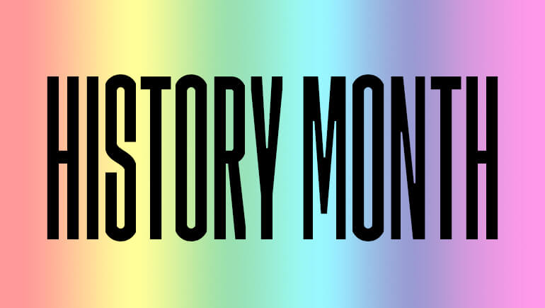 LGBTQ History Month Blog Post Banner