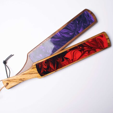 Duel Sensation Wooden Silicone Paddels WIth Wicked Woods