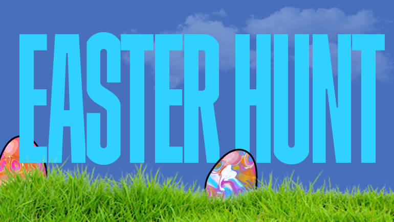 Easter Egg Hunt Blog Banner