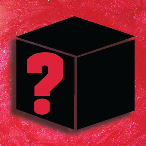 Mystery Box Red Background