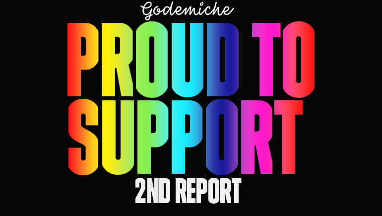Proud to suport pride second report £360 donated to UK Black Pride