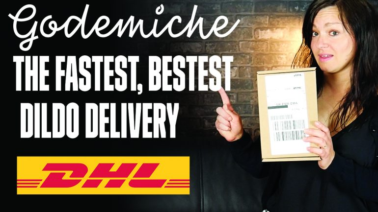 Godemiche fastest bestest dilido deliveries with DHL Blog post banner