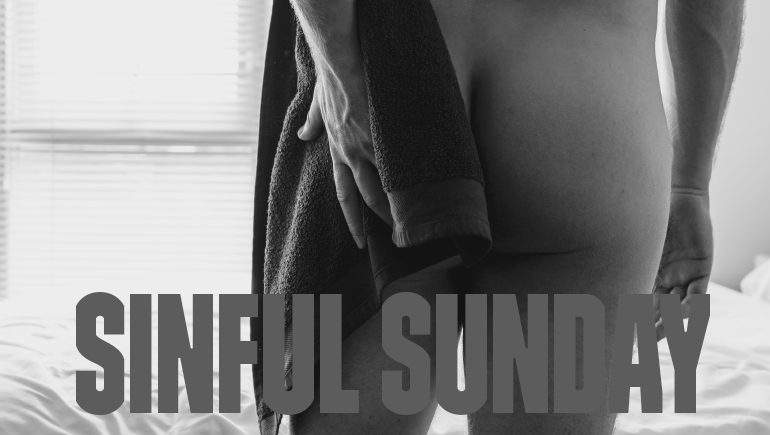 Everyday is a hump day Sinful Sunday banner