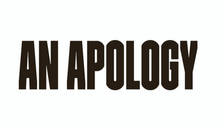 An Apology to Quinn