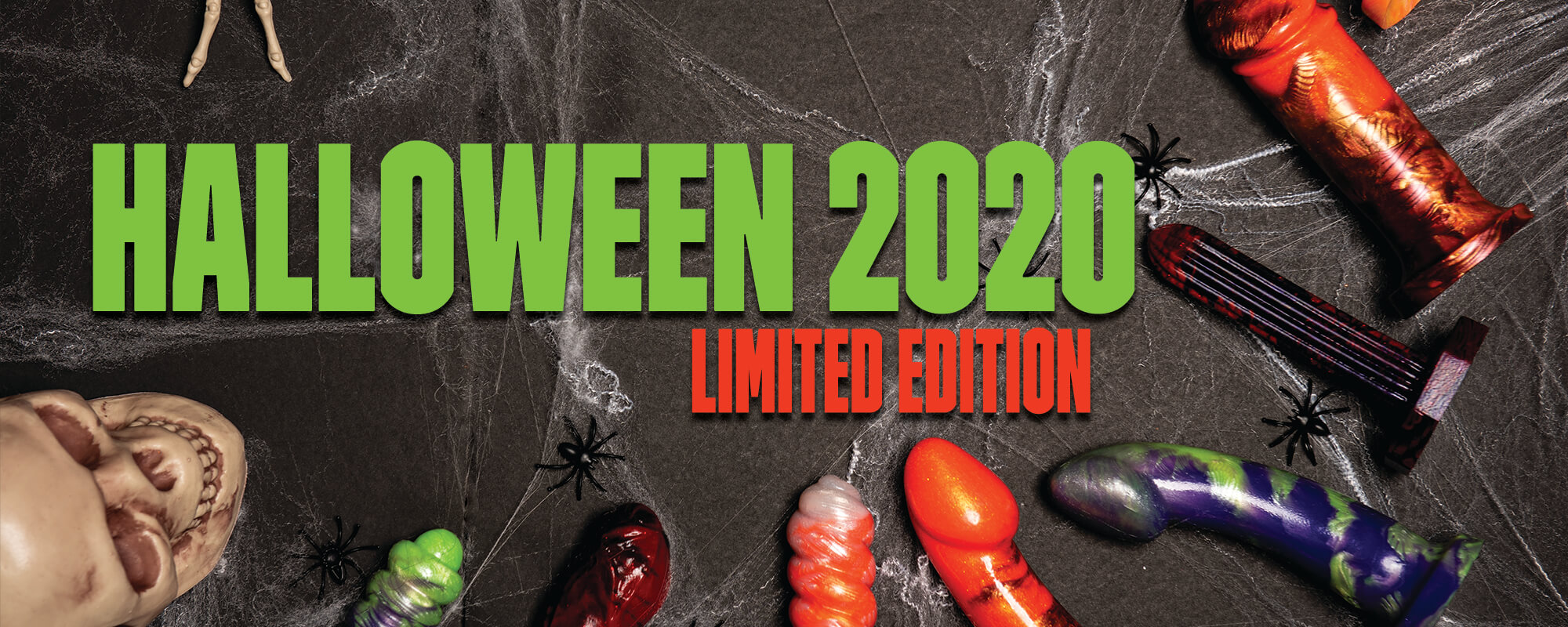 GODEMICHE HALLOWEEN LIMITED EDITION COLOURS 2020 HOME PAGE SLIDE