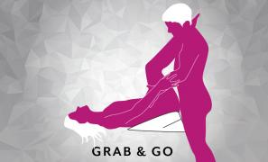 Grab and go Sex Position using Liberator Wedge
