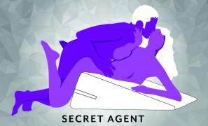 Secret Agent Sex Position using Liberator Wedge Ramp Combo