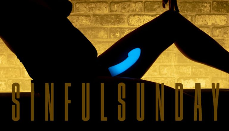 SinfulSunday light and dark Blog post banner