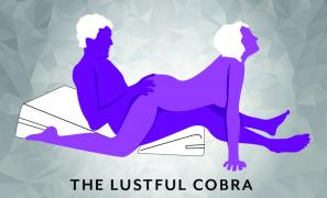 The Lustful Cobra Sex Position using Liberator Wedge Ramp Combo