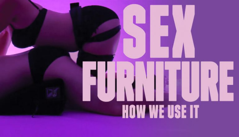 Liberator Wedge Sex Furniture and how to use it
