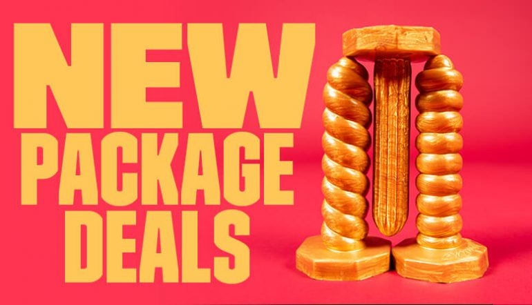 New Sex Toy Package Deals To Spice Up Your Sex Life