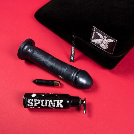 Sex Positions Pack Liberator Wedge Adam 8 inch Black Pearlescent Silicone Dildo Spunk Lub Rocks off RO80 Godemiche Silicone