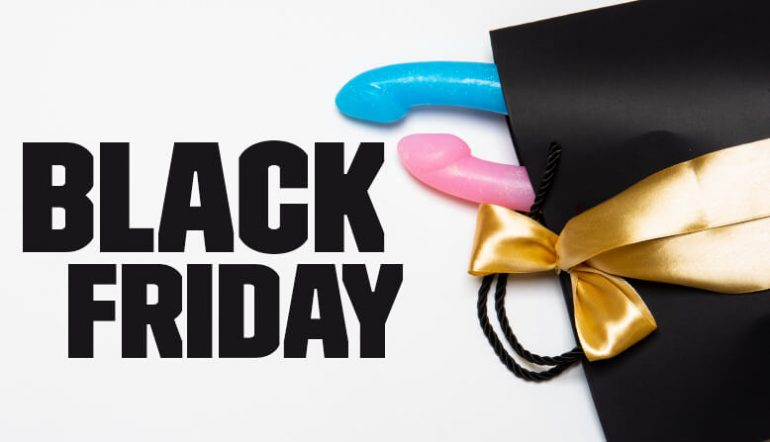 Black Friday Week Long Sale 50% Off Second Godemiche Toy