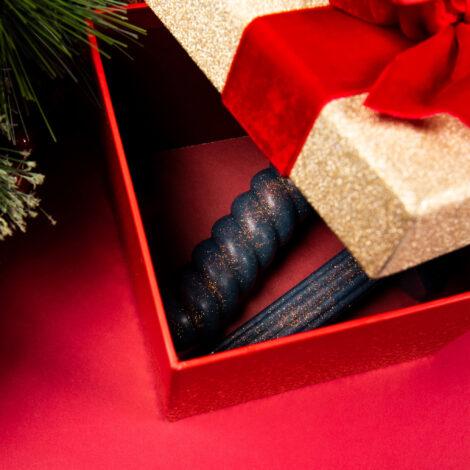 Godemiche Secret Santa medium package box