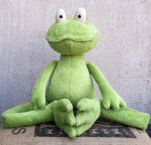 Frog Prince stuffed plushie toy