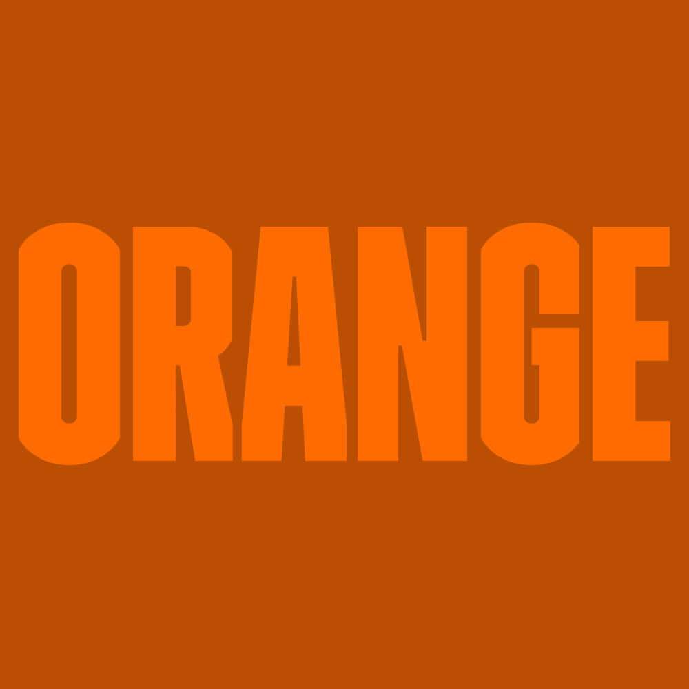 What colour say about your sexy self Orange Colour Option