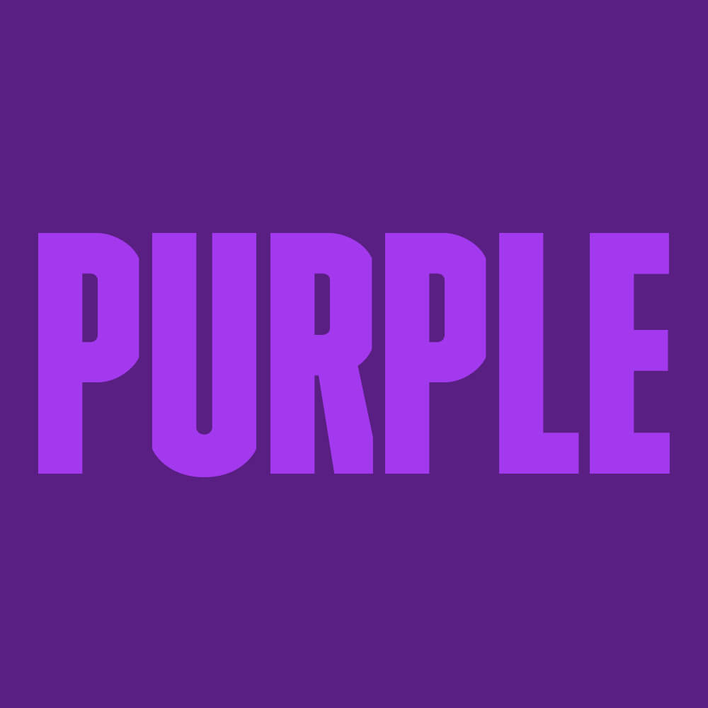 What colour say about your sexy self Purple Colour Option