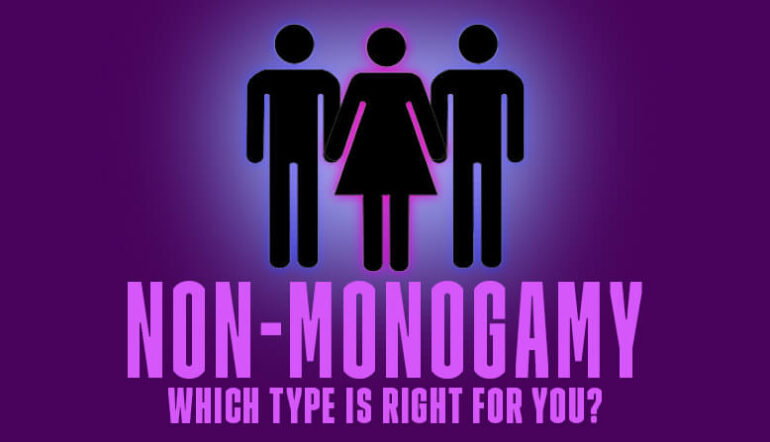 Which Type of Non-Monogamy is Right For You Blog Post Banner Purple