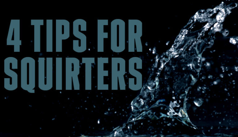 4 Tips for Squirters Tired of Sleeping in the Wet Spot Blog Post Banner