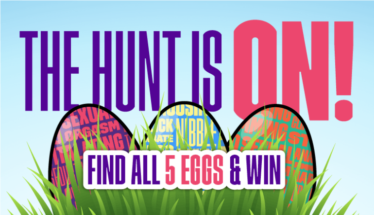 Anual Godemiche Easter Egg Hunt Blog Post Banner