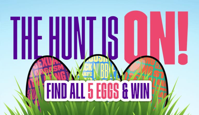 Anual Godemiche Easter Egg Hunt Blog Post Banner