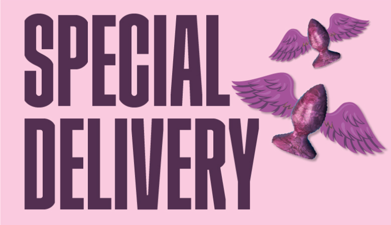 special delivery erotic story blog post banner