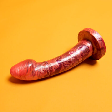 Godemiche Silicone Peachhes Collection Ambit Large Spank Me Harder And You Got Peachhes I Got Cream