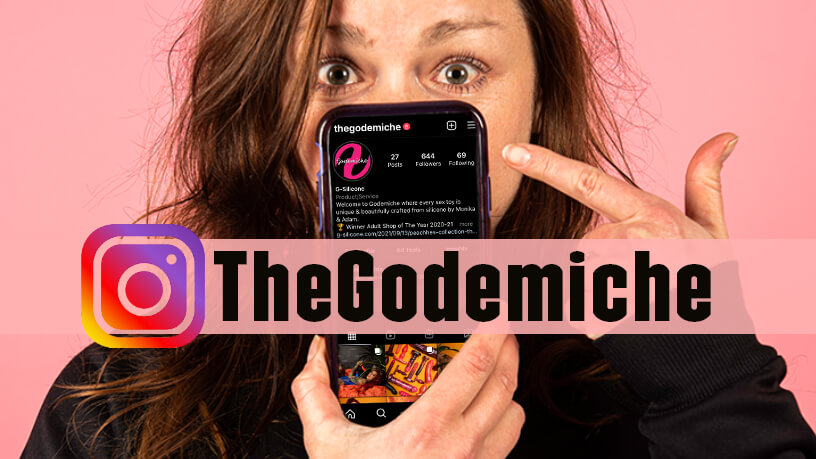 New Instagram Account TheGodemiche Go And Follow Blog Post Banner